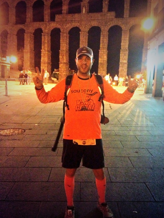 Finisher Madrid-Segovia 2013