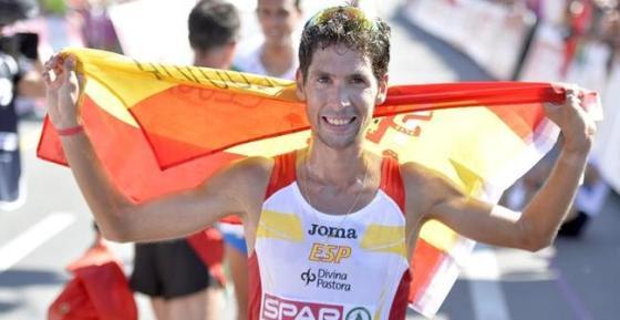Javi Guerra. 4º en el maratón.