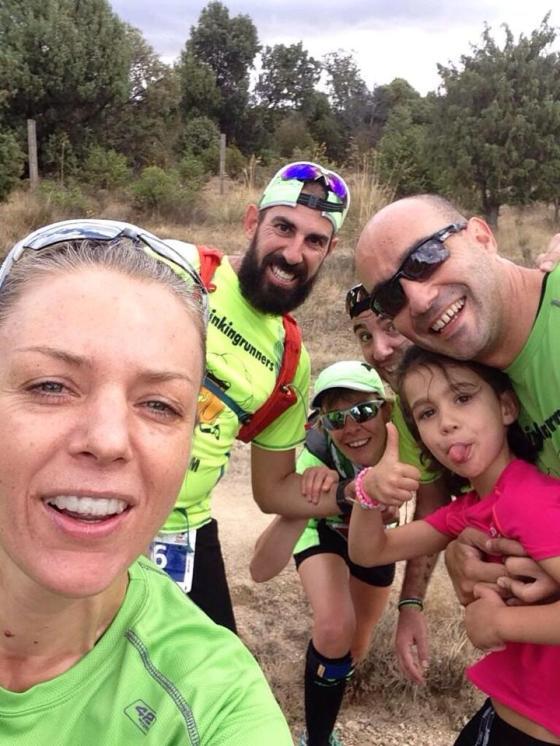 Selfie con Anita, Diego y Violeta. Foto de Anita Fuller.