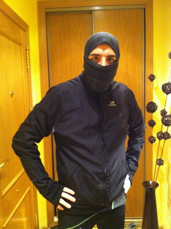 Así corro yo en invierno