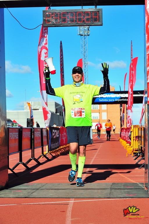Vía Verde del Tajuña. Meta Maratón